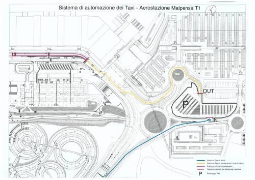 """Malpensa, parte la """"rivoluzione"""" del servizio taxi"""