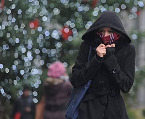 Italia nella morsa del freddo Temperatura sotto lo zero per le correnti dei Balcani