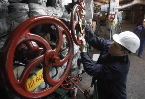 Gelo, forniture di gas in calo Scatta il piano di emergenza: imposti limiti per le aziende