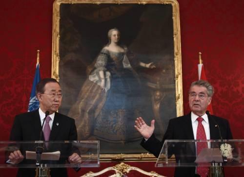 """La denuncia di Ban Ki-moon: """"In Siria vengono commessi crimini contro l'umanità"""""""