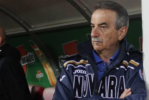 Calcio, il Novara esonera l'allenatore Mondonico Sulla panchina riecco Tesser