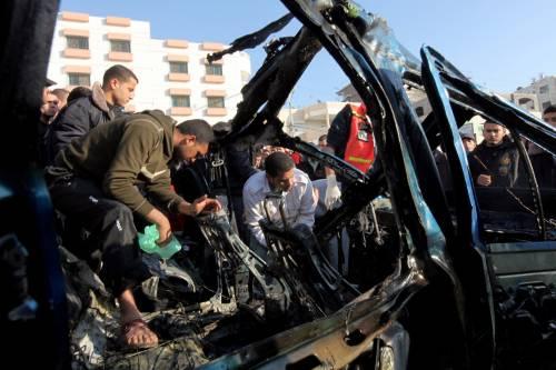Raid israeliani contro Gaza Uccisi dodici palestinesi