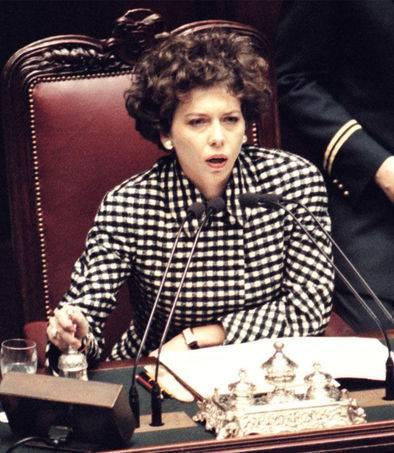 """La Pivetti: """"Fu eletta presidente della Camera perché Speroni vestiva male"""""""