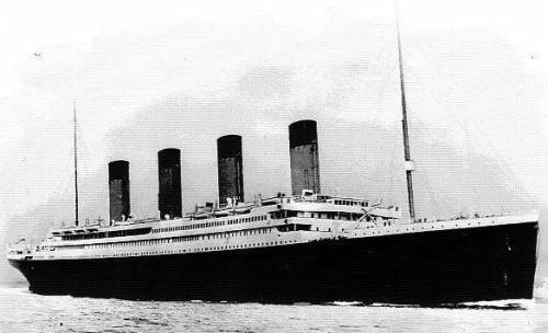 La replica del Titanic sfiderà il mare