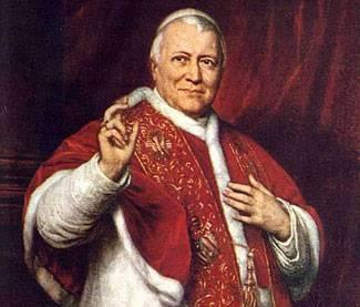 """Pio IX? statista illuminato  Parola di """"prof"""" reazionario"""