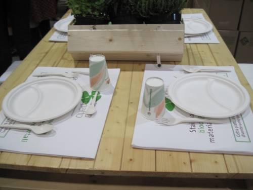 Bicchieri e posate italiani in plastica biodegradabile alle Olimpiadi di Londra