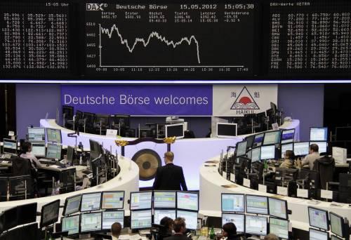 Nuova giornata di passione sulle Borse Ue Lo spread tra Btp e Bund ancora alle stelle