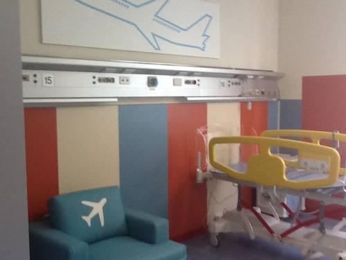 Sea, una stanza per i bimbi in cura al Centro Nemo di Niguarda