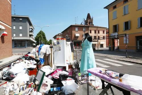 Terremoto in Emilia, fuggono gli stranieri che lavorano Tendopoli invase da disperati