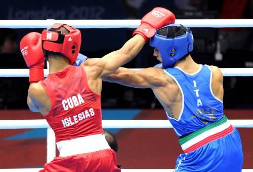 Mangiacapre bronzo nella boxe
