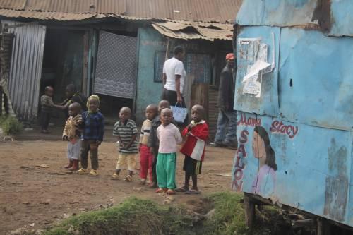 Diario africano, viaggio nello slum