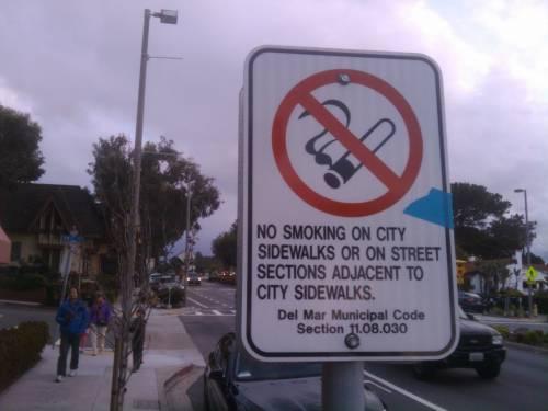 Area per non fumatori