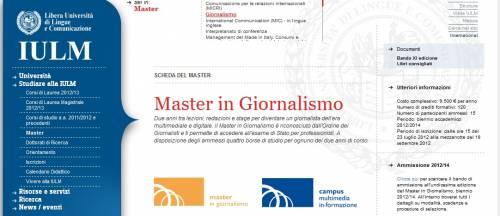 Il Master Mediaset-Iulm per diventare giornalisti multimediali