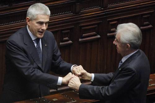 Casini a Monti: basta polemiche, non sei sereno