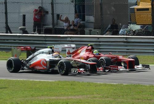 Gp di Monza, vince Hamilton Alonso terzo