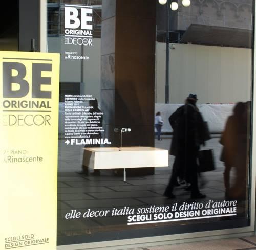 Be Original, design d'autore in vetrina alla Rinascente contro la contraffazione