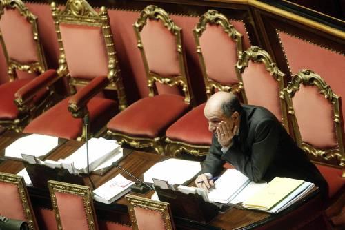 Il ministro dello Sviluppo economico Corrado Passera in Senato