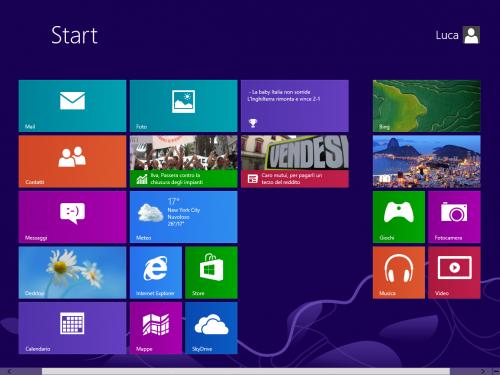 Windows 8, una nuova idea di pc