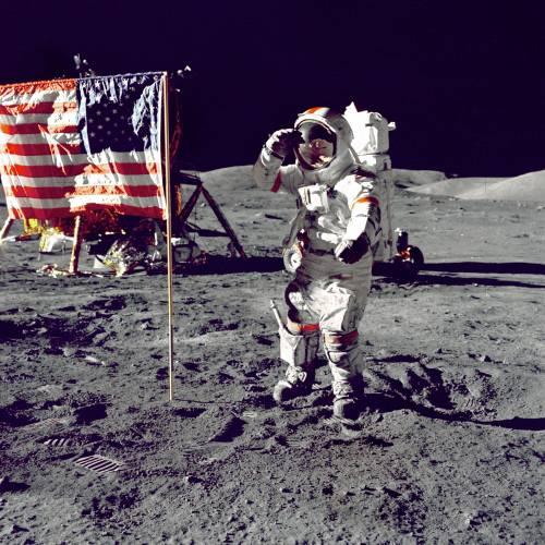 Quarant'anni fa, l'ultima passeggiata di Cernan sulla Luna