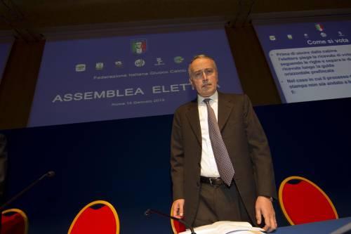 Assemblea Figc, Abete confermato presidente