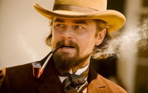 "Una scena del film ""Django Unchained"""