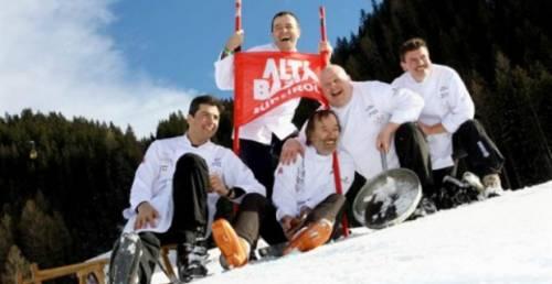 Beneficenza sugli sci