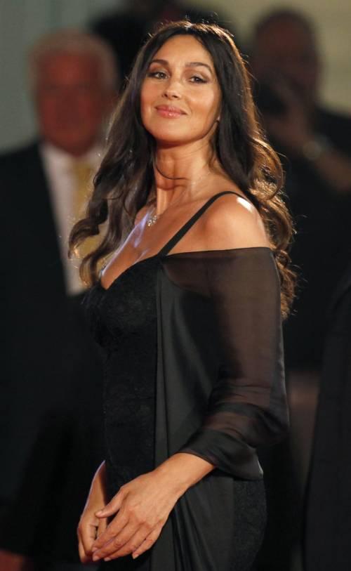 L'attrice Monica Bellucci