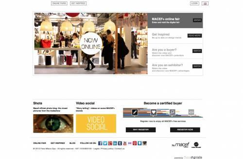 Macef, il business non si ferma: e sul web apre Macef+