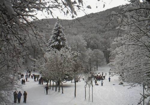 Neve in tutta Italia