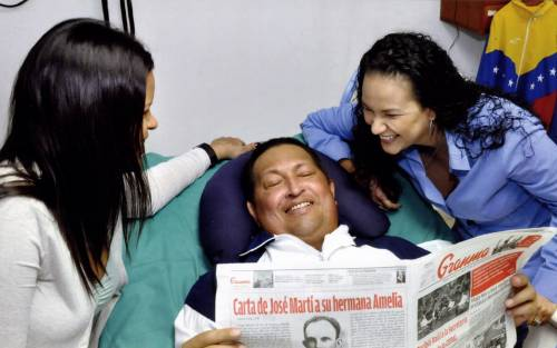 Hugo Chavez in ospedale a Cuba
