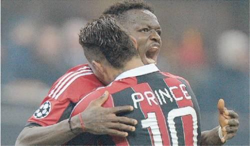 Muntari, ultima follia nel Milan teste calde