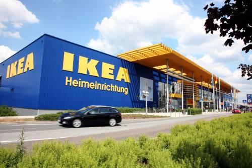 Una sede dell'Ikea a Dresda