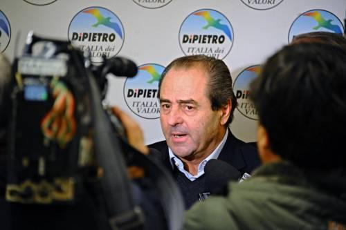 L'ossessione di Di Pietro: denunciare Berlusconi