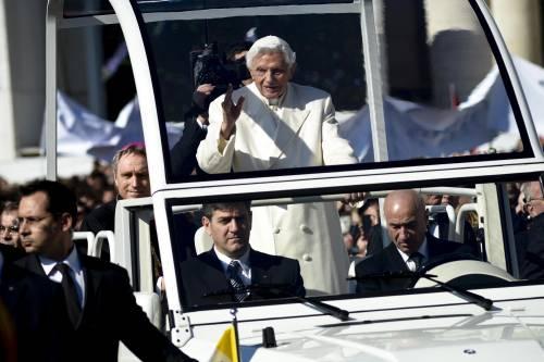 Il saluto di Benedetto XVI