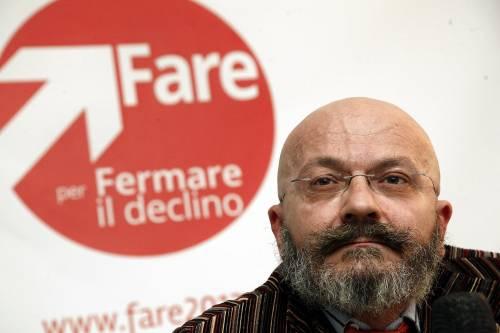"""Oscar Giannino, ex leader di """"Fare per fermare il declino"""""""