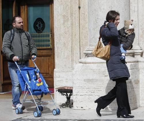 Iban, passeggini e cravatte: debutto a Palazzo