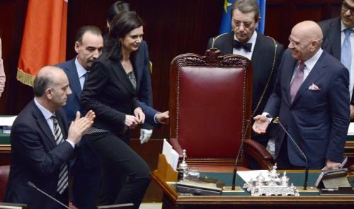 """La """"rifugiata"""" Boldrini Eterna militante rossa  dall'Onu alla Camera"""