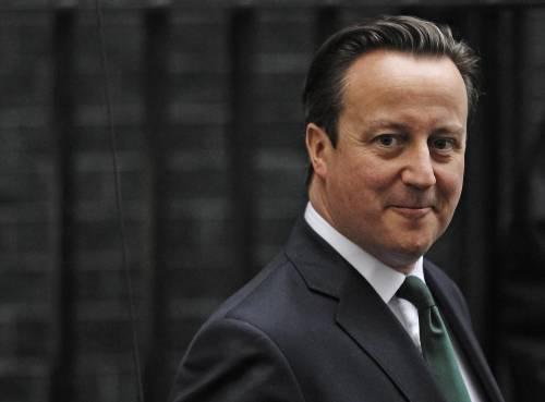 Il primo ministro inglese David Cameron