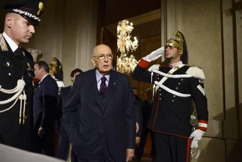 Il golpe di Napolitano