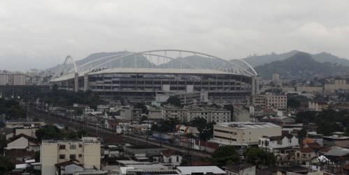 Tetto rischia il crollo: chiuso stadio di Rio 2016