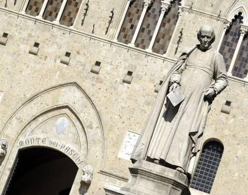 La sede di Siena del Monte dei Paschi