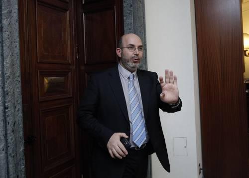 Il capogruppo del M5S al Senato Vito Crimi