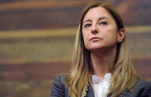 Roberta Lombardi, del Movimento 5 Stelle