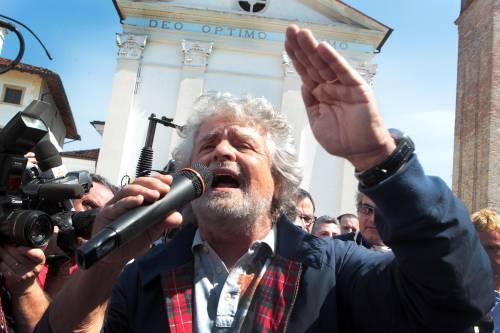Il leader del M5S, Beppe Grillo