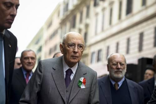 """Vilipendio, Napolitano: """"Dal Colle nessuna pressione sul Parlamento"""""""