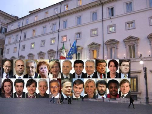 Ministri, ecco tutti i nomi