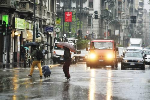 Italia divisa in due: pioggia e freddo al nord, bello al centro-sud