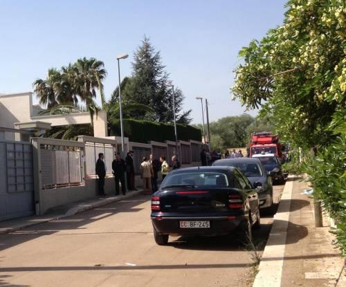 Tragedia familiare a Bari: morte tre persone in una villetta