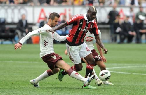 Supermario fa gol: Abbiati fa i miracoli e il Milan fa festa