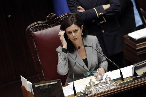 La Boldrini difende le donne ma solo se sono di sinistra